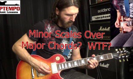 Guitar Lessons: Minor Over Major; WTF?