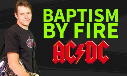 How to play Baptism By Fire Guitar Lesson & TAB – AC/DC