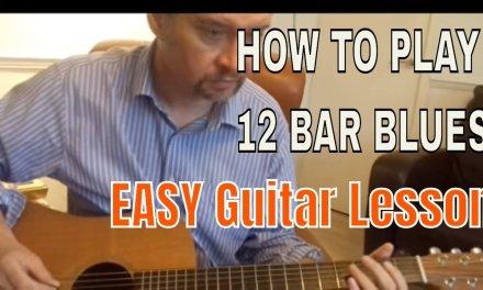 12 Bar Blues Beginners Guitar Lesson