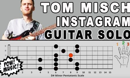 Tom Misch Instagram Guitar Solo Lesson and Music Theory Explanation – Hip Hop & Neo Soul Style