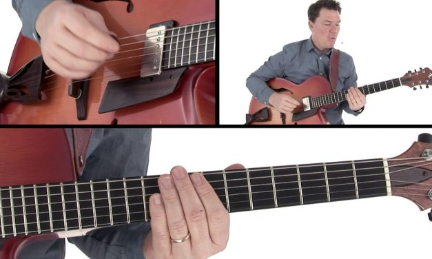 Jazz Guitar Lesson – Minor 6 Kumoi Scale – Sean McGowan