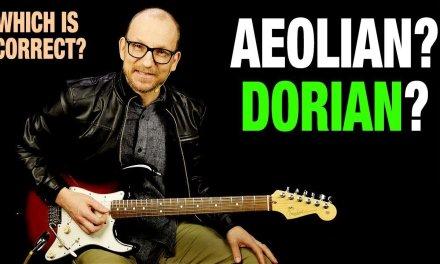 Aeolian vs Dorian – Which Is Correct?