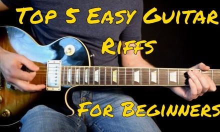 Top 5 Easy Guitar Riffs For Beginners
