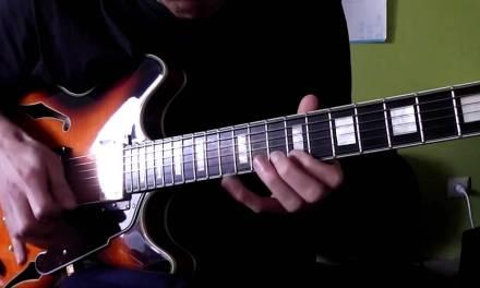 Bb Major Jazz 12 bar Blues – Lesson + Notation+Tab