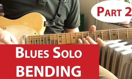 Bending Your First Blues | Guitar Lesson (Part 2)