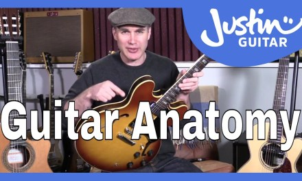 Beginner Guide To Guitar Anatomy – Guitar Lesson Tutorial – Know Your Guitar