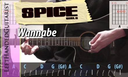 Spice Girls – Wannabe | guitar lesson