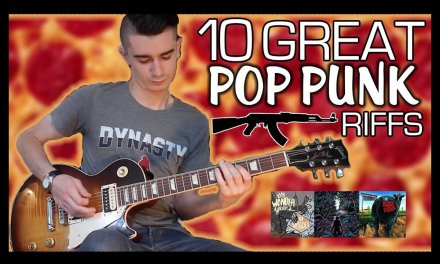 10 Great Pop Punk Riffs w/ Tabs
