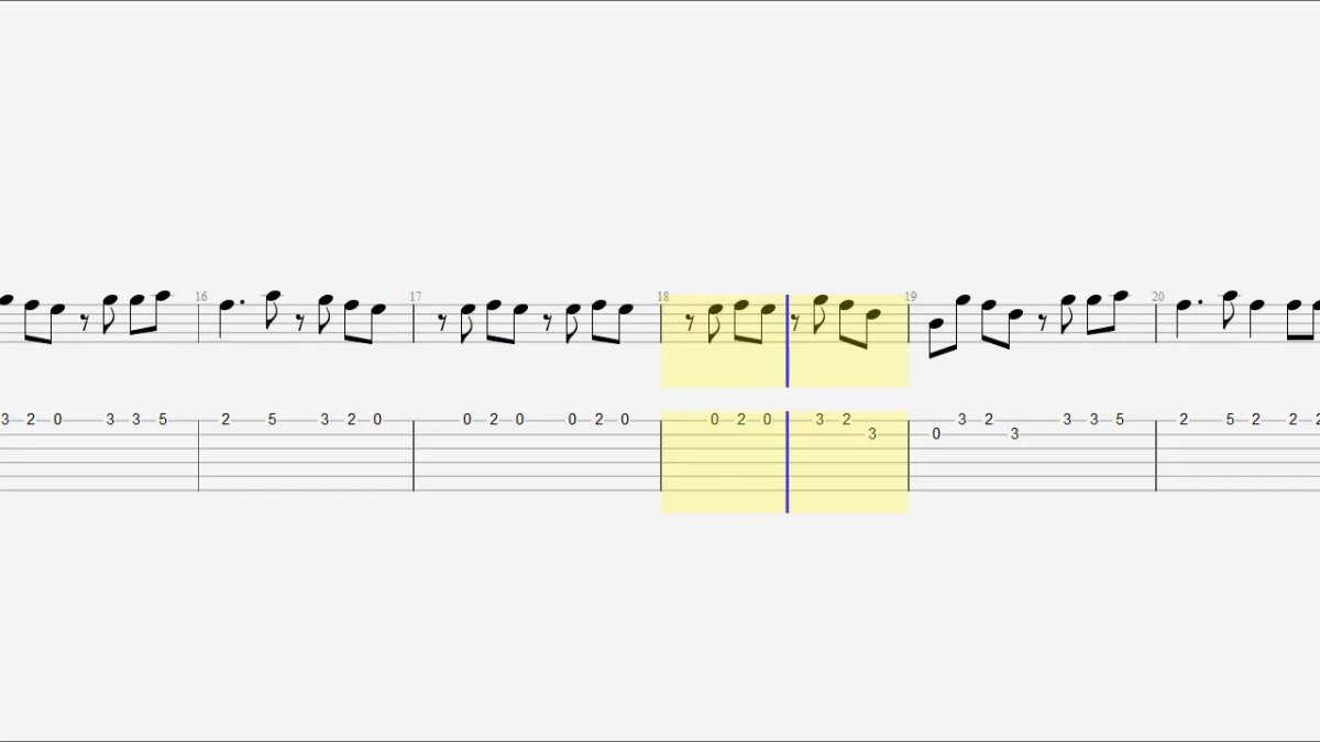 Guitar Tab Notes Chords Zombie The Glog