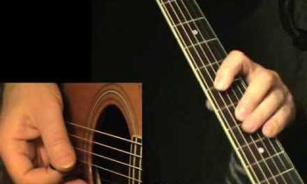 Blues solo 12 – flatpicking + TAB! Acoustic guitar lesson, learn to play