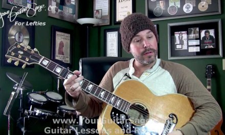 Need You Now – Lady Antebellum –  Lefty Beginner Acoustic Guitar Lesson