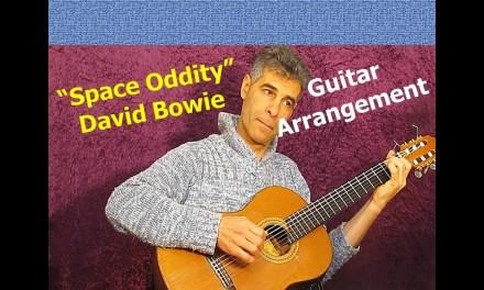 Space Oddity (David Bowie)-guitar fingerstyle arrangement by Hagai Rehavia