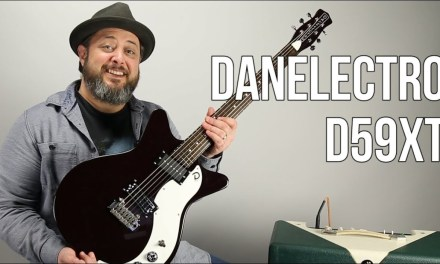 Danelectro 59xt Electric Guitar Demo