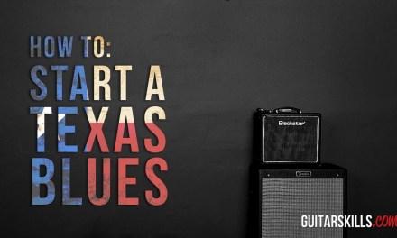 How To Play Texas Blues Guitar – John Lee Hooker Riff