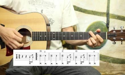 Amazing Grace – Simple Solo – Guitar Lesson
