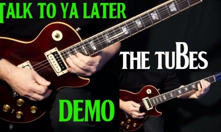 "how to play ""Talk To Ya Later"" on guitar by The Tubes Steve Lukather 