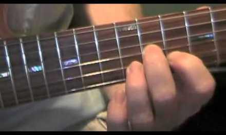 Eight Days A Week Beatles guitar lesson