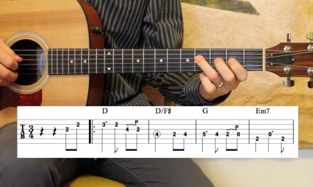 Ashokan Farewell – Guitar Lesson – Melody and Rhythm