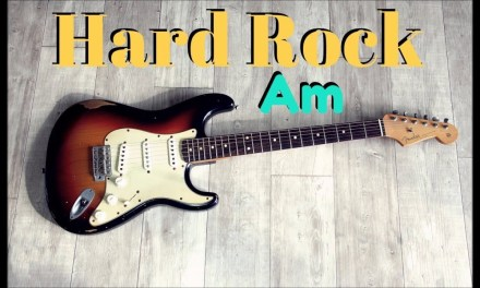 HARD ROCK STYLE BACKING TRACK (Am)
