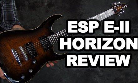 ESP Horizon EII FM NT electric guitar review & demo