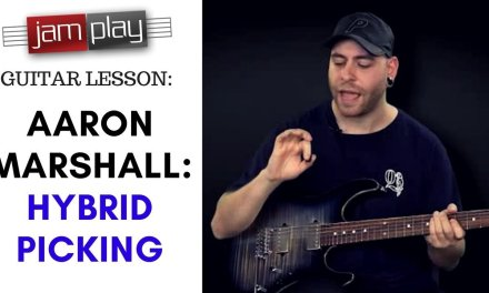 Aaron Marshall JamPlay Guitar Lesson: Hybrid Picking | (INTERVALS // Suhr Guitars)