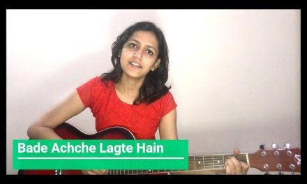 Bade Achche Lagte Hain Guitar Lesson | Old Songs | Simple Guitar Chords | Easy Lesson