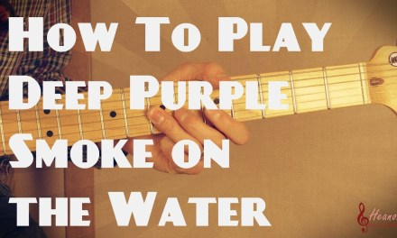 How to play Smoke on the Water by Deep Purple – Guitar Lesson Tutorial – with Tabs