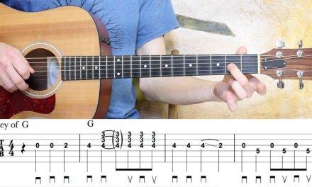 Hand Me Down My Walking Cane – Guitar Lesson – 2 Arrangements
