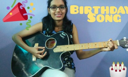 Happy Birthday Song Guitar Lesson | Easy Tabs/Notations in Hindi