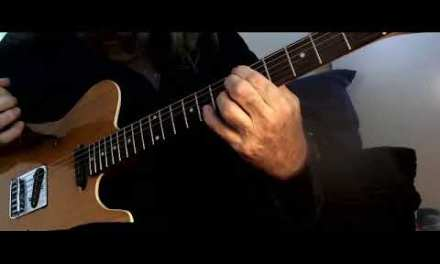 Intereactive Guitar Lesson 10 – Basic Jazz-Blues progression in A   Trade off lead first