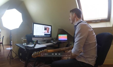 Skype Guitar Lesson Demo -Rick Stickney- Tasty Guitar Lessons
