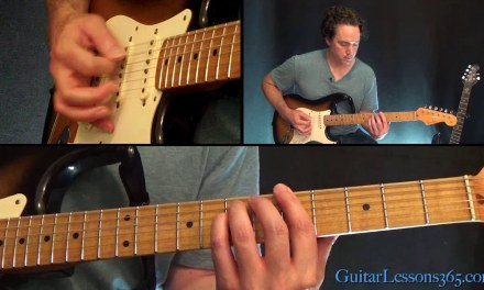 Message In A Bottle Guitar Lesson – The Police