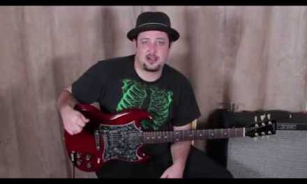 Improvise Solos Using Key of A Pentatonic (Add to the 5 Positions)