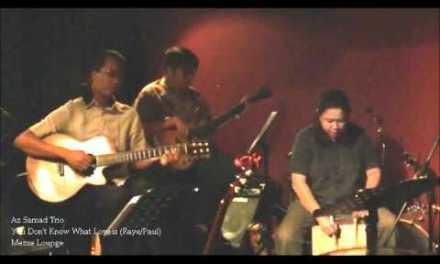 Az Samad Trio 05 You Don't Know What Love is Mezze Lounge