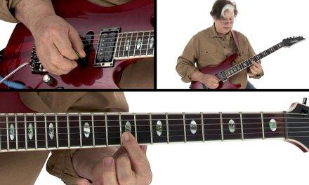 Melodic Modal Rock Lick #7 – Seashore – Guitar Lesson – Jon Finn