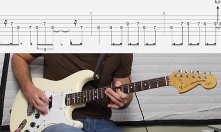 Deep Purple – Strange kind of woman guitar solo lesson with FREE TABS