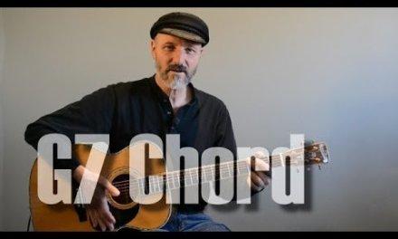 G7 Chord – Guitar Lesson