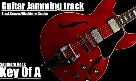 Guitar Jamming track – Blackberry Smoke/Black Crowes Style in A
