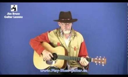 Blues Guitar Lessons – Jim Bruce Blues Guitar Lessons