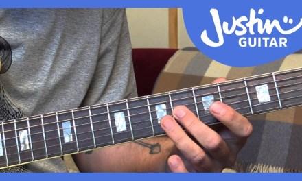 Jazz Standard: Misty – Melody – Erroll Garner (Guitar Lesson JA-531)