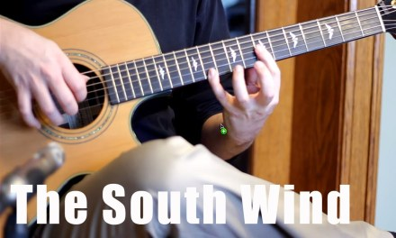 The South Wind – Celtic Fingerstyle Guitar – With TAB!