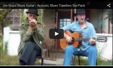 Acoustic Blues Guitar – Livin With The Blues – Brownie McGhee (Cover)