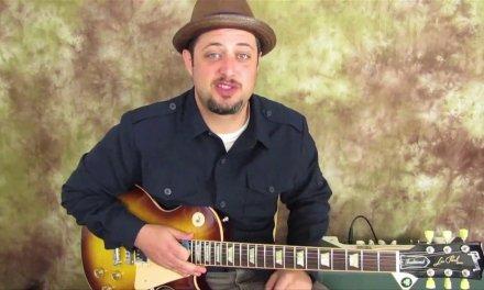 ZZ Top Slow Blues Turnaround (Older Beginner Guitar lesson)