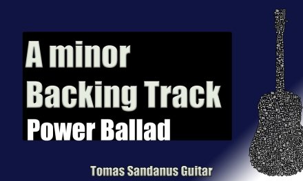Power Ballad Backing Track in Am   Slow Rock Guitar Backtrack   Chords   Scale   BPM