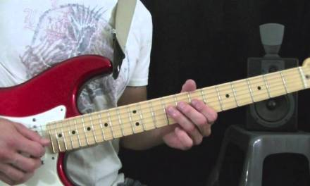 Thunderstruck Solo – ACDC – Guitar Lesson