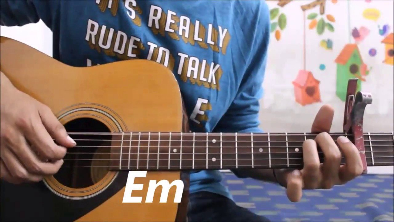 Aapke Pyaar Mein Hum Savarne Lage Hindi Guitar Cover Lesson Chords