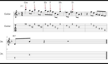 Jazz blues lessson #3 – Triad Pairs