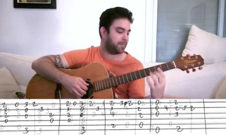 Fingerstyle Tutorial: A Whole New World – Guitar Lesson w/ TAB