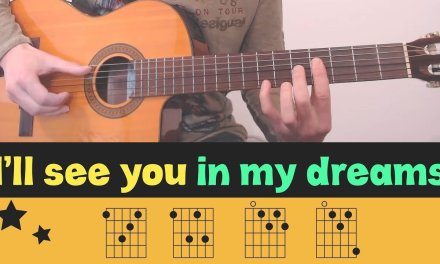 I'LL SEE YOU IN MY DREAMS // Fingerstyle // Tutorial // Lesson // Tabs // Chords // MERLE TRAVIS