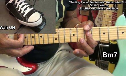 "Undisputed Truth ""SMILING FACES SOMETIMES"" Electric Wah Guitar Lesson FunkGuitarGuru Funk"